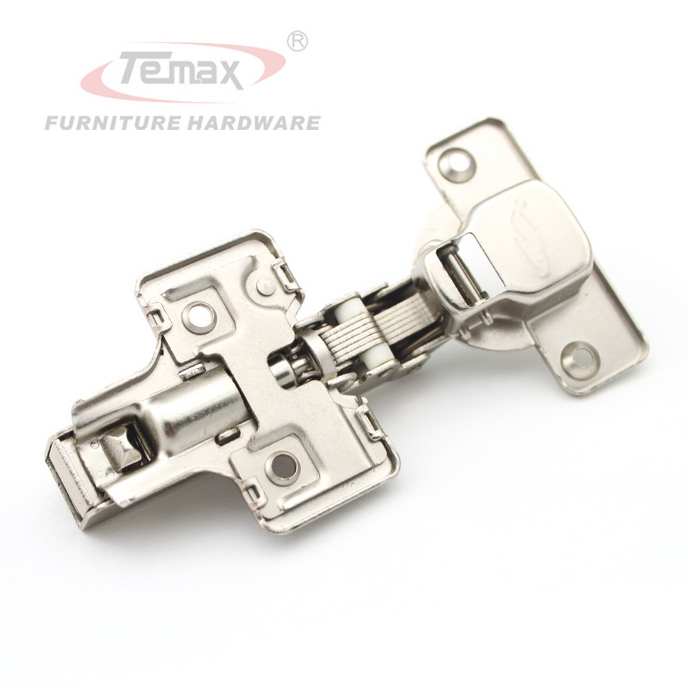Full overlay Furniture Hinges Cabinets Hydraulic Kitchen Cupboard Soft Closing Hinge Clip-on 3D Adjustable Base
