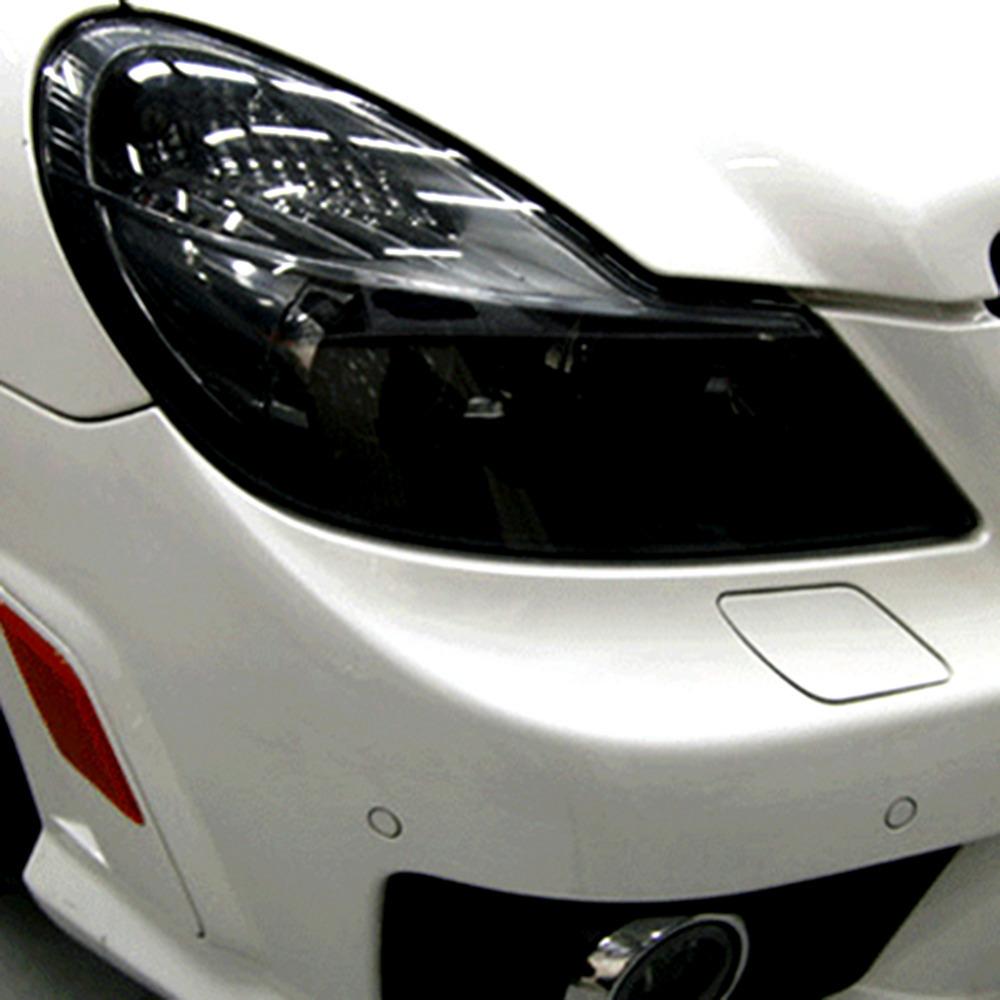 12 x 48inch Auto Car Styling Headlights Taillights Translucent Film Lights Turned Car Sticks Decor Waterproof Vinyl Film Sticker(China (Mainland))