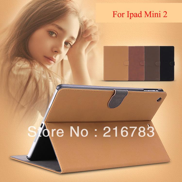 100 Pcs/Lot Hot Sale Enland Retro book style flip PU leather case for ipad mini 2013 Smart Cover for ipad mini 2  Free Shipping <br><br>Aliexpress