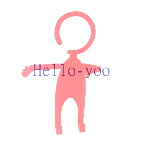 Soft Silicone Flexible Cell Phone Holder Funny Human Shape Hanger Smart car cell phone holder Flexible Hook Cell Phone Holder(China (Mainland))