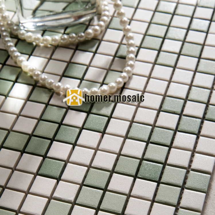 15x15mm ceramc mosaic for bathroom shower mosaic kitchen backsplash wall and floor mosaic tiles thickness 8mm<br><br>Aliexpress