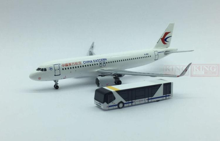 PandaModel Eastern Airlines Car Ferry Bus 1:400. commercial jetliners plane model hobby(China (Mainland))