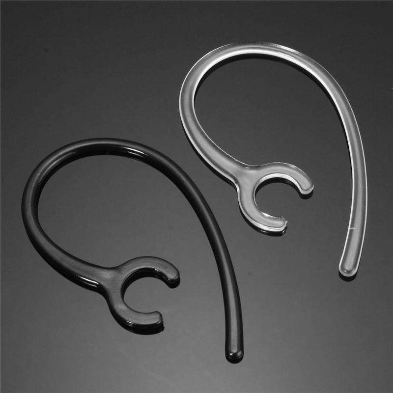 1pc Earhook Bluetooth Headset Earloop Black/Clear Plastic Earhook 9mm For Samsung HM1900 HM1300 Earphone Accessory(China (Mainland))