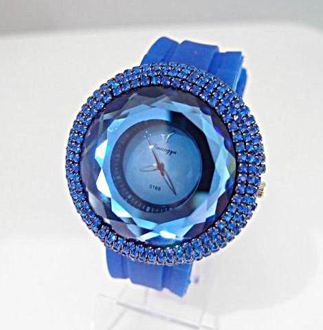 6 colors wholesale big size jelly Silicone watch Women Wrist Sports Watch SM028<br><br>Aliexpress