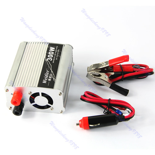 New 300W Car Truck Boat USB DC 12V to AC 220V Power Inverter Converter Charger(China (Mainland))