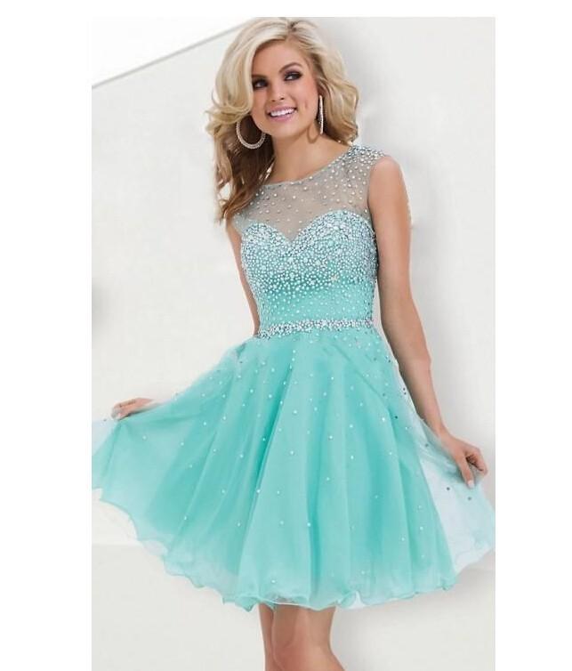 Online Get Cheap Short Turquoise Sweet 16 Dresses -Aliexpress.com ...