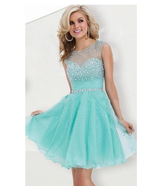 Turquoise Homecoming Dresses - Evening Wear