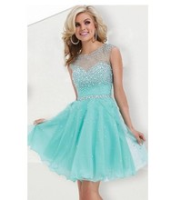 Dresses turquoise A line