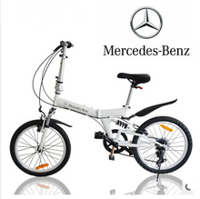 20 inch mini mountain bike folding aluminum folding bicycle with disc-brake, 8 seconds can be folded