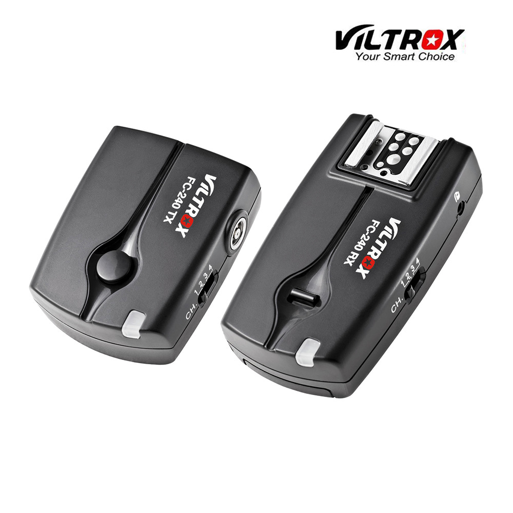 Viltrox FC-240 Wireless Flash Trigger Camera Remote Shutter Release for Nikon D90 D3200 D5200 D5300 D5500 D7000 D7200 D750 DSLR(China (Mainland))