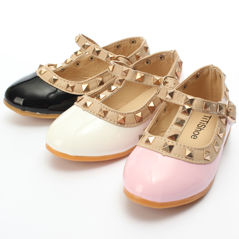 New fashion Flat Shoes Spring Autumn girl princess shoes ...