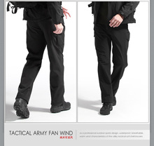 Free shipping Black Color Lurker Shark skin Soft Shell TAD V 4.0 Outdoor Pant Military Tactical Waterproof Sports Army Pants