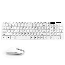 JK - 906 2.4G Ultra Thin Wireless  Multiple Battery-safe  USB Receiver Desktop  Keyboard and Mouse Combo(China (Mainland))