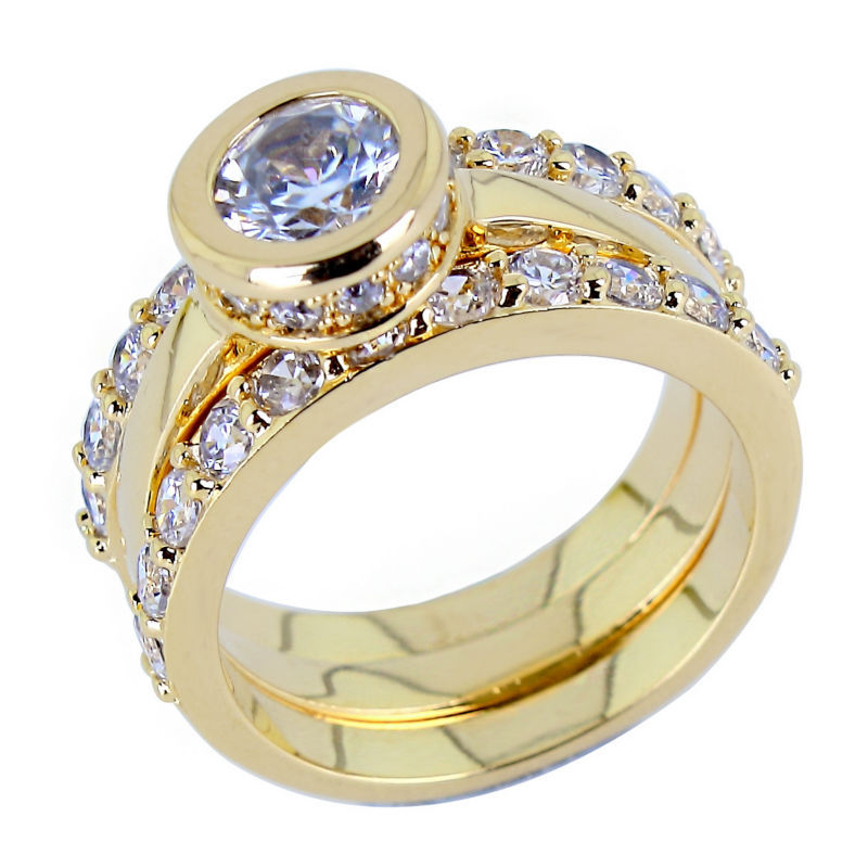 Fresh Latest Gold Engagement Ring Designs | Jewellry\'s Website