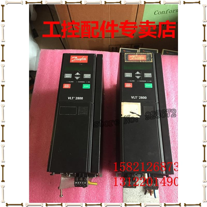 Danfoss frequency converter VLT2800 VLT2840PT4B20STR0DBF00A00 4 kw 380 v good package(China (Mainland))