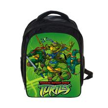 Аниме TMNT Teenage Mutant Ninja Turtles Рюкзак Дети Ранцы Мальчики Объединенных Мутантов Школьные Рюкзаки Дети Детский Сад Мешок(China (Mainland))