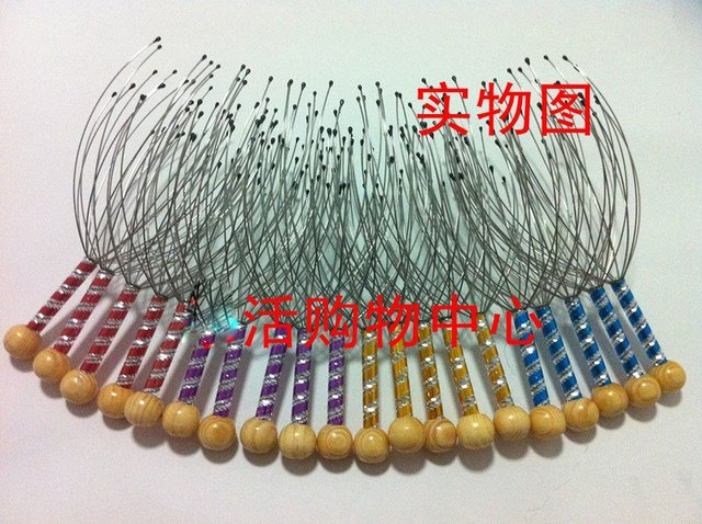 Best selling! Handle manual head massager neck massager nerve endings scalp 50Pcs/Lot Free shipping