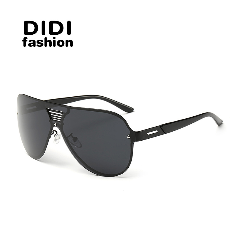 DIDI 2016Hot Sale Big Size Man Polarization Sunglasses men UV400 Ultraviolet Prevention Brand Sun glasses H086(China (Mainland))