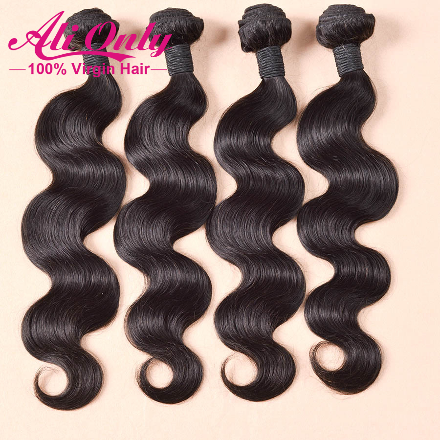 peruvian virgin hair body wave 4 bundles rosa hair