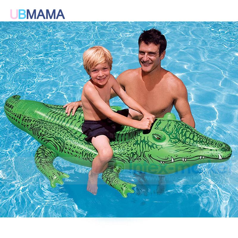 Crocodile PVC Floating Row Children Water Floating Seat Summer Swimming Water font b Kid b font