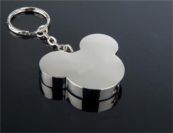 Metal cartoon Mickey Head lovely mouse USB Flash Drive Memory Card Stick Thumb/Car/Pendrive Key U Disk/creative Gift 1-64GB(China (Mainland))