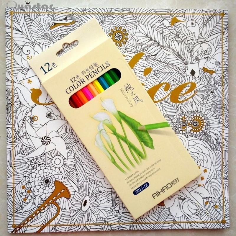 Buy Secret Garden Stress Relieve Coloring Book Korean