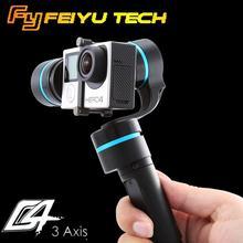 FeiYu G4 3-axis Brushless Handheld Gimbal for GoPro Hero 4 3  3+ /FEIYU FY-G4 Ultra Steady Gimbal for SJ4000(China (Mainland))