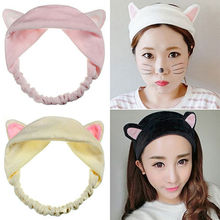 1 PC Womens Lady Girls Grail Cute Cat Ears Headband Hairband Party Gift Headdress Hair Band Accessories`(China (Mainland))