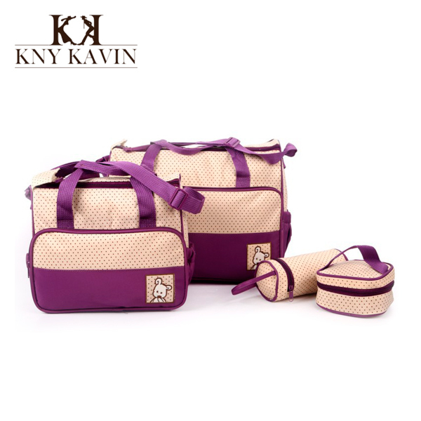 New Designer Women fashion diaper bag nappy bag for mommy and baby changing maternity infant stuff