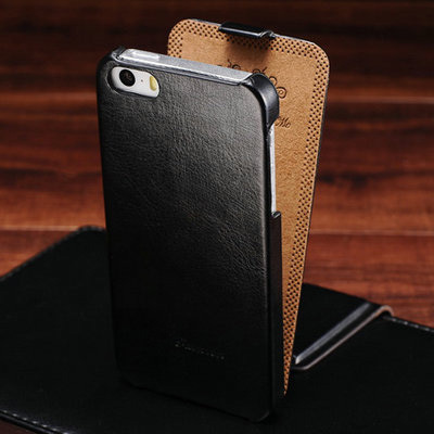 Retro Case For Apple iPhone 5 Luxury PU Leather Phone Cover Flip Style For iPhone 5s Phone Brand Cases Covers(China (Mainland))