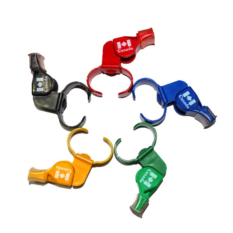 50pcs/lot fox football soccer whistle lifesaving whistle emergency whistle(China (Mainland))