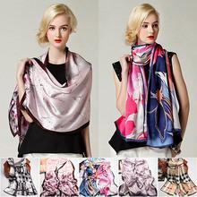 popular long silk scarf