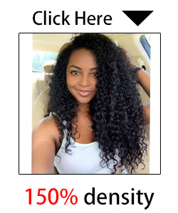 8A Glueless Full Lace Human Hair Wigs Peruvian Virgin Hair Deep Curly Lace Front Human Hair Wigs For Black Women With Baby Hair