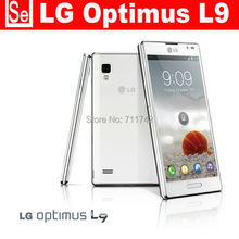 "Refurbished p760 Unlocked LG Optimus L9 P760 Cell phone 4.7"" touch Android RAM1GB ROM 4GB dual core Wifi GPS 3G 5MP Camera"