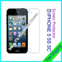 3pcs scratch Matte Anti Glare Scratch Screen protection For iphone 5G 5s 5c screen protector film free shipping