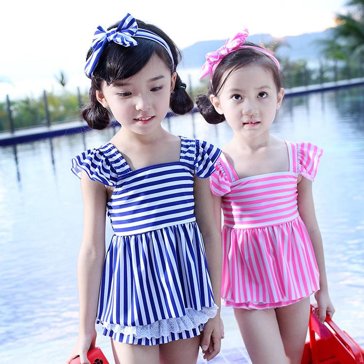 girls one piece swimwear bikini meisje children's swimwear girls bathing suits baby swimming suit toddler little mermaid ballet(China (Mainland))