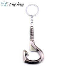 Dongsheng аксессуары для игры DOTA 2 брелок Pudge крюк открывалка для бутылок брелок оружие модельные брелоки DOTA 2 брелки Keyholder-50(China)