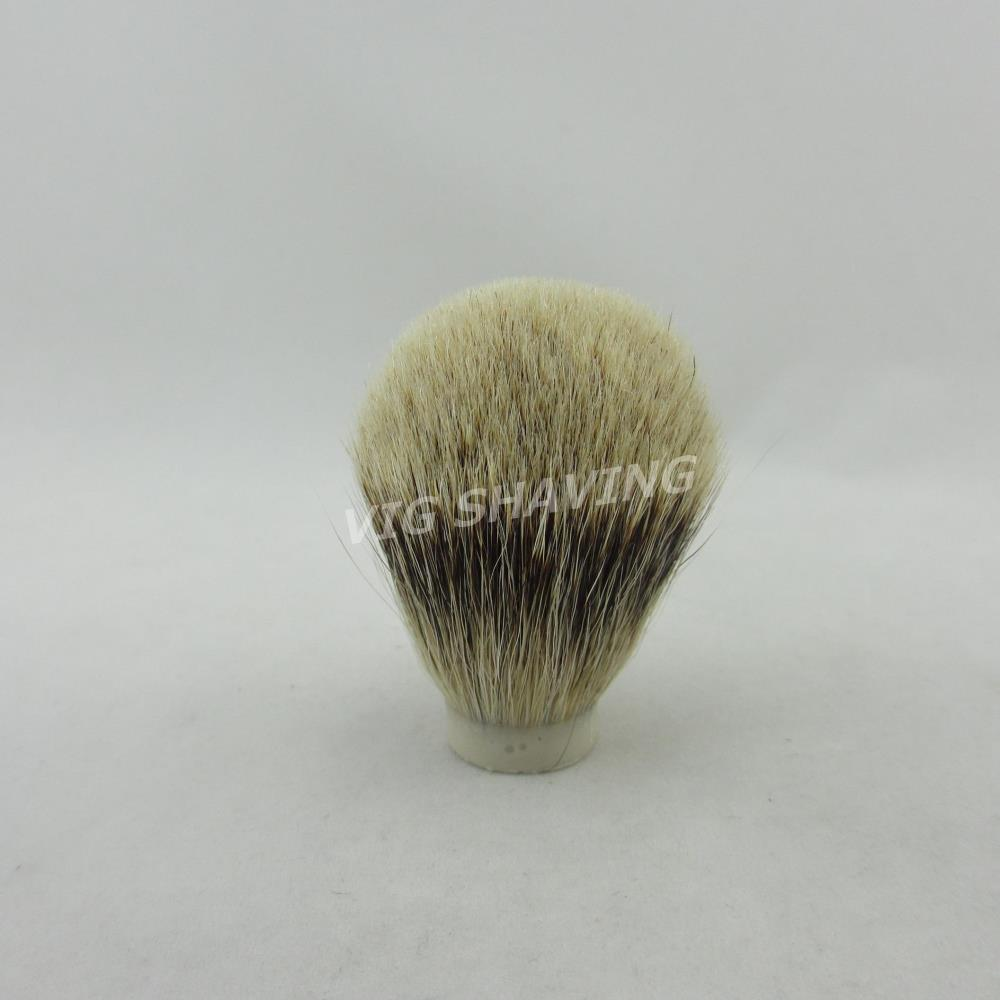 20/60mm small size Professional Silvertip badger hair Bulb shape shaving brush Brush Knot(China (Mainland))