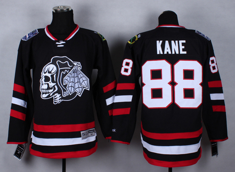 Free Shipping 2015 New Arrival High Quality Men's #88 Kane Ice Hockey Jerseys Chicago Black Hawks Sport Jersey
