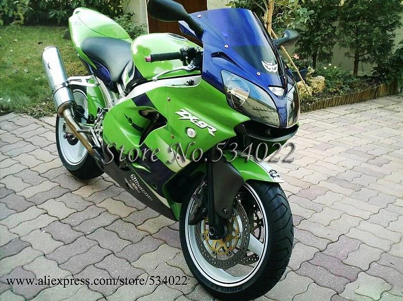 * ZX 900 ZX-9R Ninja ZX 9R 00-01 green ABS Plastic Fairing Kit Set Fit For Kawasaki ZX900 zx9r Ninja ZX 9R 2000 2001 E22 W8(China (Mainland))