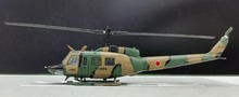 Japan Self-Defense Forces official version 1: 100 UH-1 Huey helicopter model Multifunction Alloy aircraft model