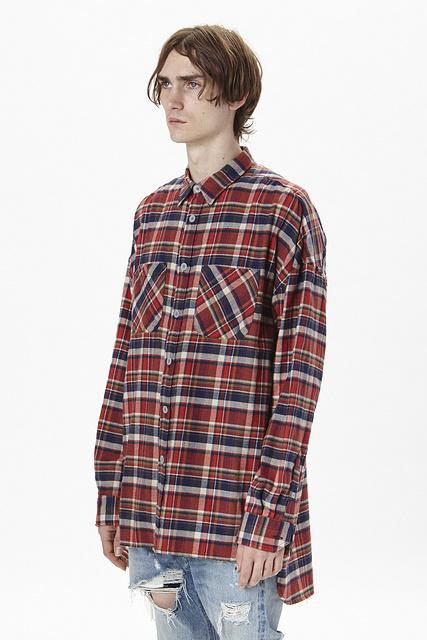 British Style Fancy Mens Shirts Fashion 2016 Spring font b Tartan b font Clothing Men Clothes