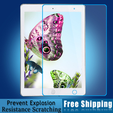 Excellent Work Performance Top Quality Tempered Glass Screen Protector Film For iPad Air 1/2 Free DHL/EMS 100pcs/lot Wholesale