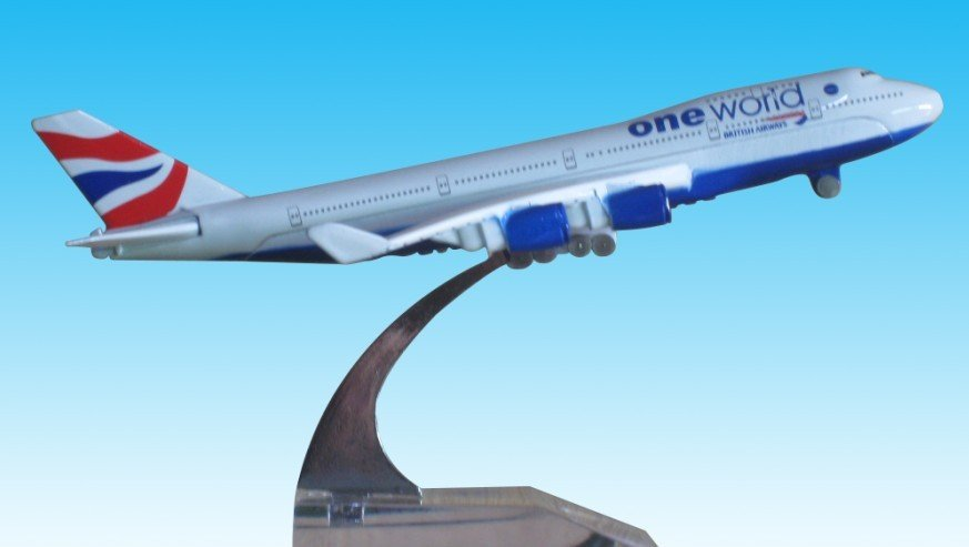 1:400 British UK Airways B-747 400 Boeing AirPlane Aircraft Model Toy - Shenzhen Technology Co..Ltd store