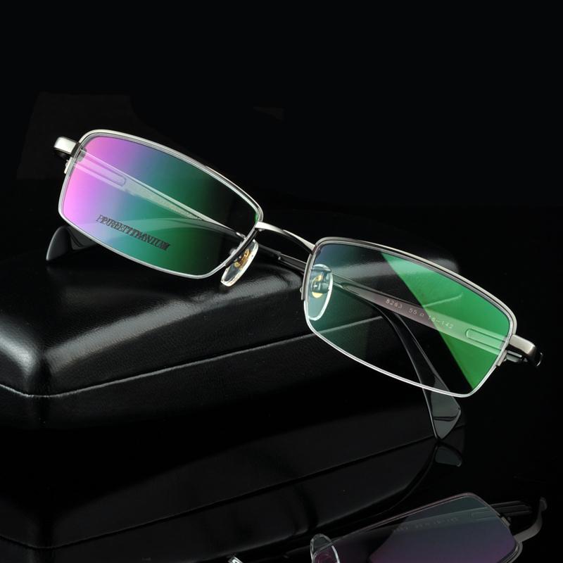 Ultra-light Male Classic Big Face Pure Titanium Business Men Optical Eyeglasses Glasses Spectacles Prescription RX Myopia FrameОдежда и ак�е��уары<br><br><br>Aliexpress