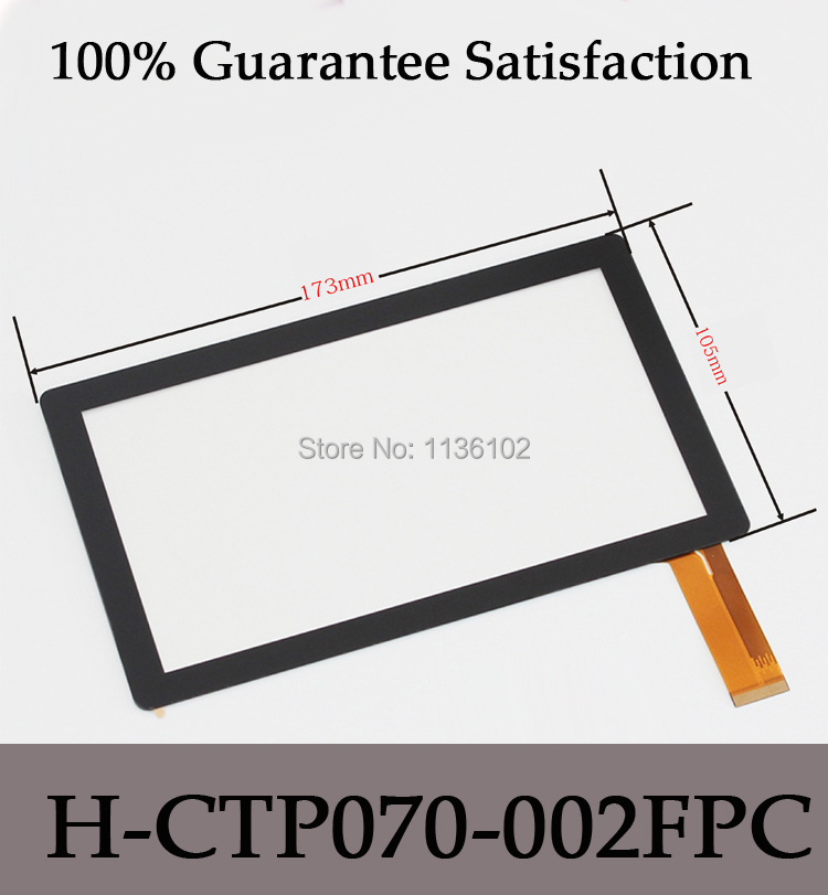 7 inch Ap-q8 66 touch screen h-ctp070-002fpc handwritten panel capacitance tablet screen replacement Free shipping 5Pcs/lot<br><br>Aliexpress