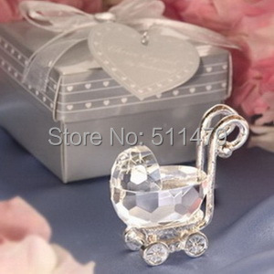 Kids Birthday Party Favors Crystal Celebrations K9 Baby Carriage Shower Gifts+10+ - Perfect Wedding Co.,Ltd store