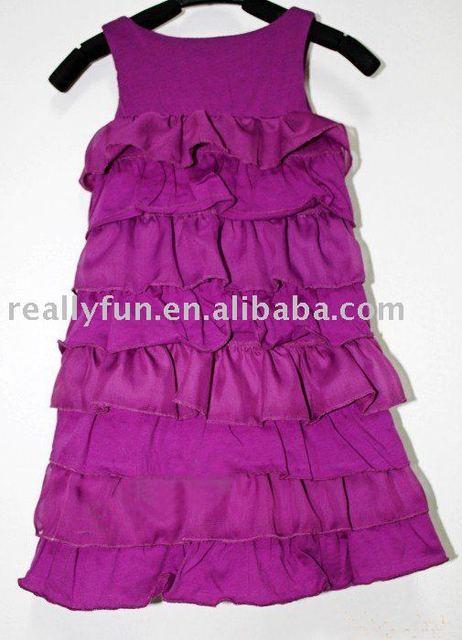 High Fashion baby/ Kids' cotton Dress,Overrun Dress, baby girl's dress, baby and kids clothing,children's wear/dress/clothes