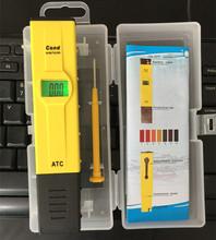 Buy 20pcs/lot 2016 LED digital Cond-2013 Automatic Temperature Compensation Conductivity Pen-type Water EC Cond Meter aquarium for $139.94 in AliExpress store