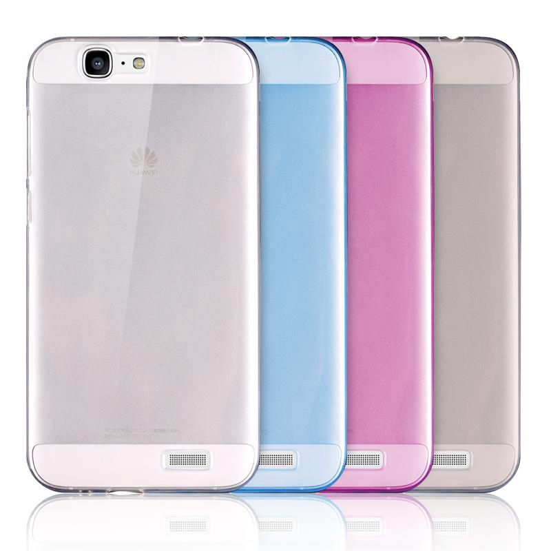 Free Shipping Huawei G7 Case 0.3MM Ultra Thin Soft Back Cover TPU Case For Huawei Ascend G7 Gift Screen Protector(China (Mainland))